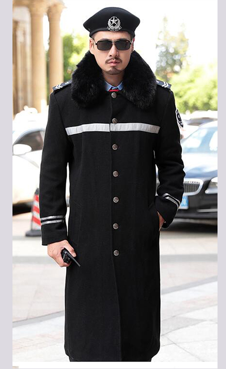 保安冬装大衣