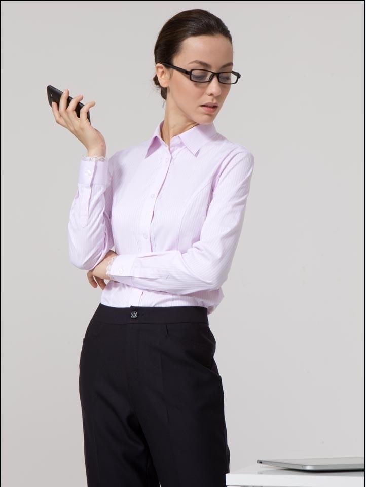 时尚体闲女衬衫