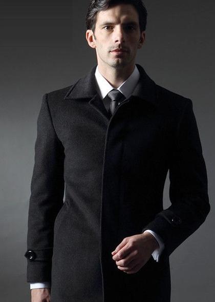 定做男士大衣